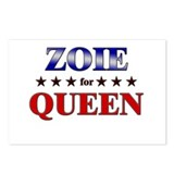 ZOIE for queen Postcards (Package of 8)