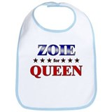 ZOIE for queen Bib
