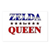 ZELDA for queen Postcards (Package of 8)