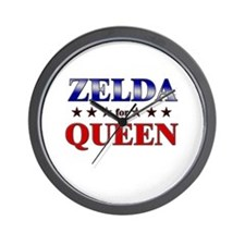 ZELDA for queen Wall Clock