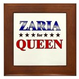 ZARIA for queen Framed Tile