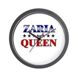 ZARIA for queen Wall Clock
