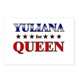 YULIANA for queen Postcards (Package of 8)