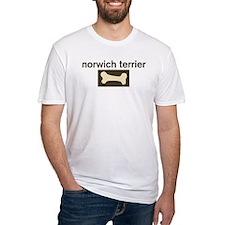 Norwich Terrier Dog Bone Shirt