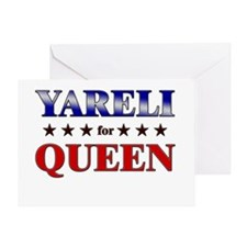 YARELI for queen Greeting Card