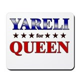 YARELI for queen Mousepad