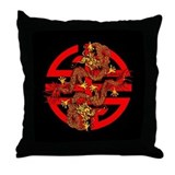 Protection Seal Throw Pillow