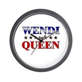 WENDI for queen Wall Clock