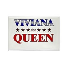 VIVIANA for queen Rectangle Magnet