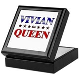 VIVIAN for queen Keepsake Box