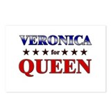 VERONICA for queen Postcards (Package of 8)