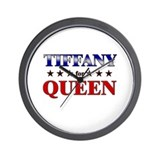 TIFFANY for queen Wall Clock