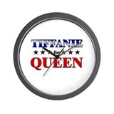 TIFFANIE for queen Wall Clock