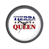 TIERRA for queen Wall Clock