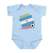 Argentina Soccer Team Infant Bodysuit