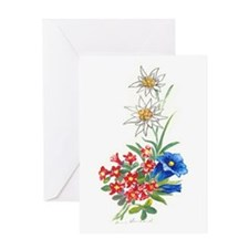 Alpine Flowers 2 Greeting Card