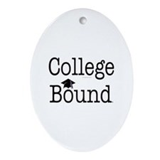 College Bound Teepossible.com Ornament (Oval)