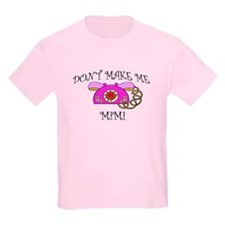 Call Mimi with Pink Phone T-Shirt