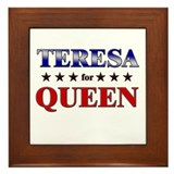 TERESA for queen Framed Tile