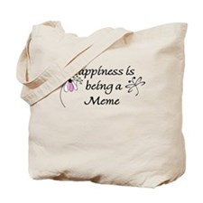 Happiness Is Meme Tote Bag