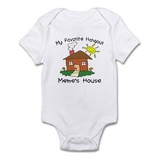 Favorite Hangout Meme's House Infant Bodysuit