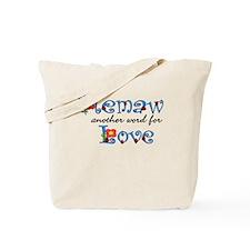 Memaw Love Tote Bag