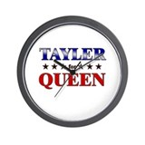 TAYLER for queen Wall Clock