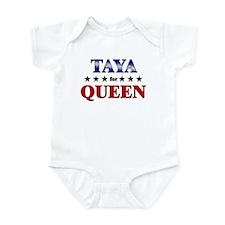 TAYA for queen Infant Bodysuit