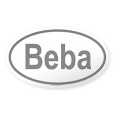 BEBA Oval Decal