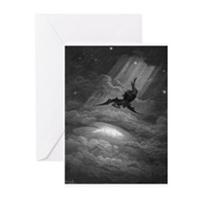 Paradise_Lost_12 Greeting Cards