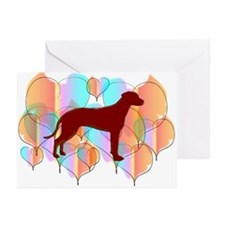 Ridgeback Valentine Greeting Cards (Pk of 20)