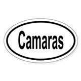 CAMARAS Oval Decal