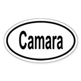 CAMARA Oval Decal