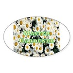 Master Gardener Oval Sticker