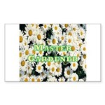 Master Gardener Rectangle Sticker