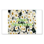 Head Gardener Rectangle Sticker