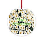 Head Gardener Ornament (Round)