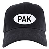 Pakistan Oval Baseball Hat
