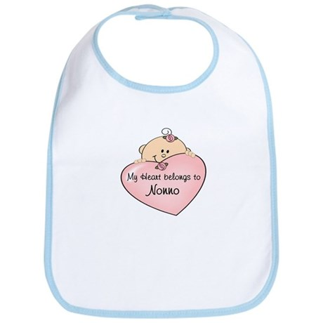 Heart Belongs to Nonno Bib