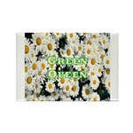 Green Queen Rectangle Magnet (100 pack)