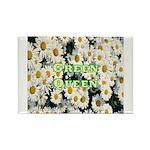 Green Queen Rectangle Magnet (100 pack)