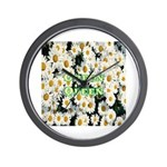 Green Queen Wall Clock
