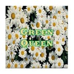 Green Queen Tile Coaster