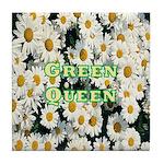 Green Queen Tile Coaster
