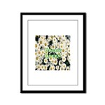 Green Queen Framed Panel Print