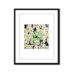Green Queen Framed Panel Print