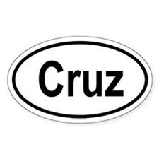 CRUZ Oval Decal