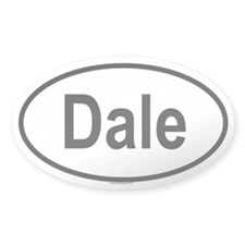 DALE Oval Decal