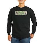 Green Queen Long Sleeve Dark T-Shirt