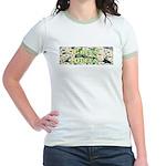Green Queen Jr. Ringer T-Shirt